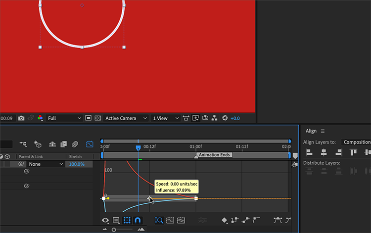 How to Create an Animated Circle Burst in Adobe After Effects — Animate the Shape