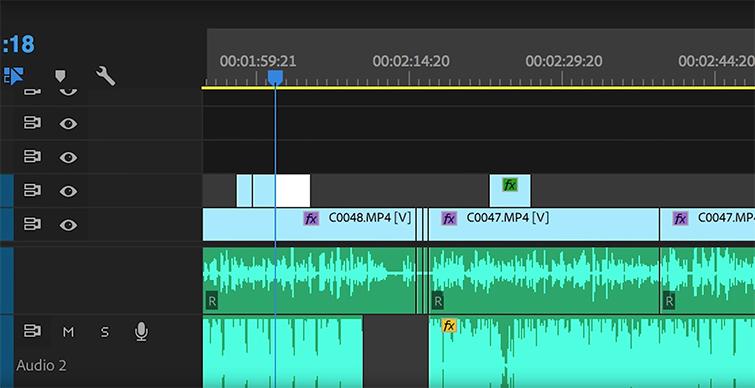 Video Editing 101: Using The J, K, and L Key Editing Shortcuts — K Key Shortcut