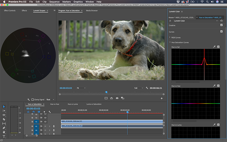 Video Tutorial: Introducing Premiere's New Lumetri Curves — How the Tools Work