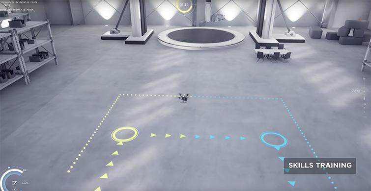 Learn to Not Crash Your New Drone: The DJI Flight Simulator — Skills Training Mode