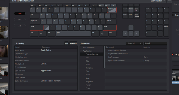 Blackmagic Just Released Resolve 15.2, and It's Packed with New Features — Keyboard Mapping