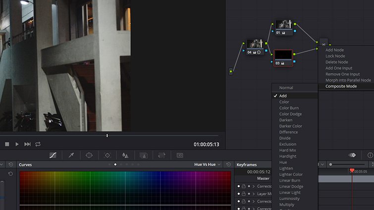 Post-Production Tip: Isolating and Hiding Noise in Your Footage — Change Blend Mode