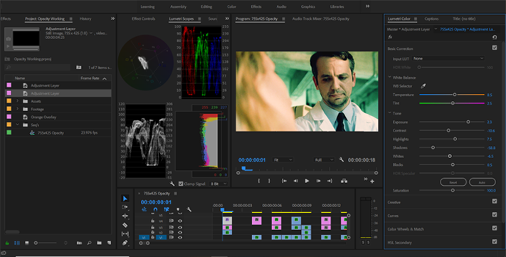 How to Get Better Color Grades Using Opacity Blend Modes — New Adjustment Layer