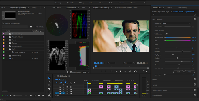 How to Get Better Color Grades Using Opacity Blend Modes — Curves Correction