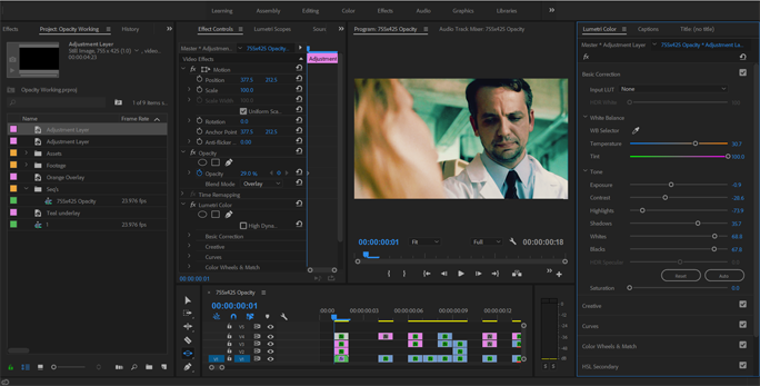 How to Get Better Color Grades Using Opacity Blend Modes — Adjust Contrast