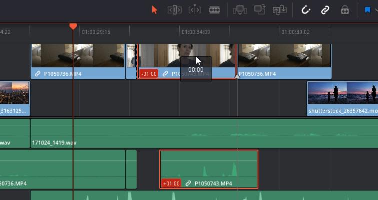 DaVinci Resolve 15 Video Crash Course — The Edit Tools — Time Code