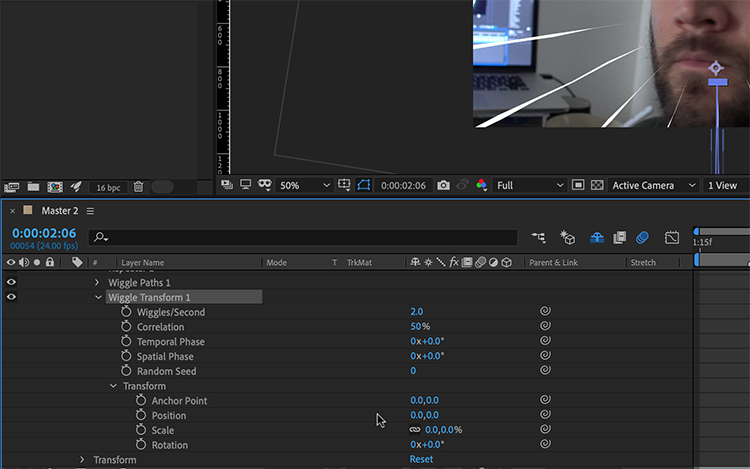 Video Tutorial: How to Create Anime Speed Lines in After Effects — Activate Lines