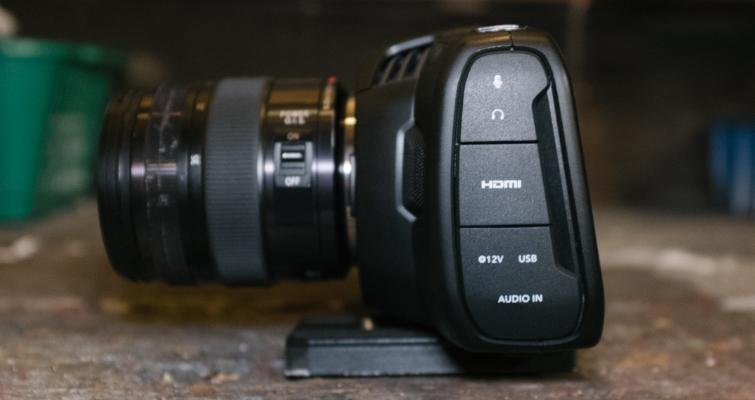 Hands-On Review: The Blackmagic Pocket Cinema Camera 4K — Ports