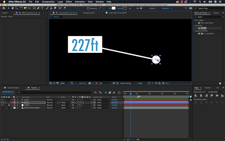Video Tutorial: Create a Callout Graphic in Adobe After Effects — Connect