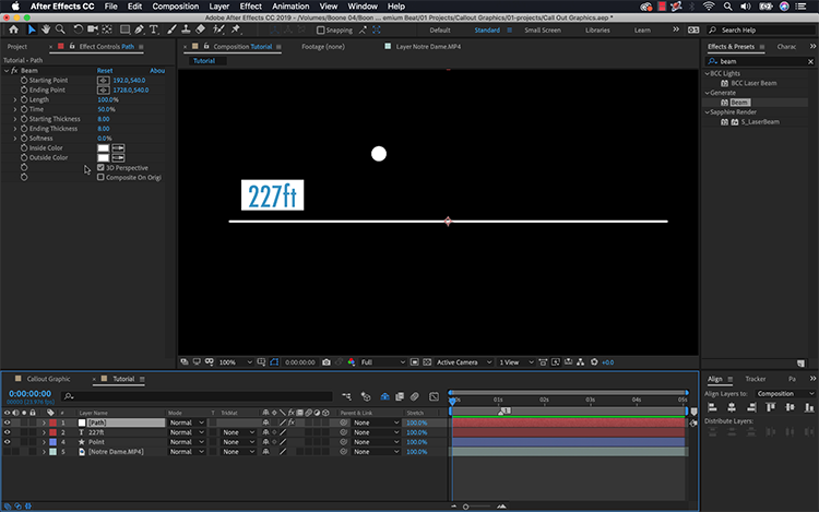 Video Tutorial: Create a Callout Graphic in Adobe After Effects — Create
