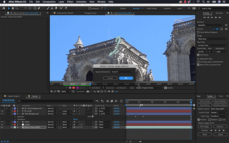 Video Tutorial: Create a Callout Graphic in Adobe After Effects — Track