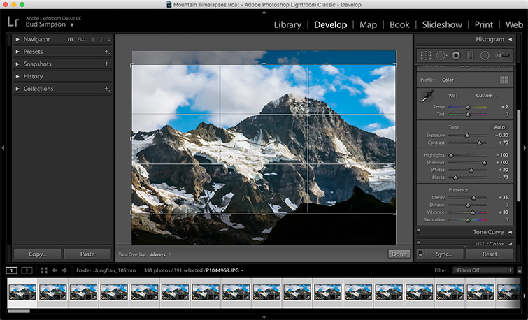 Video Tutorial: Time-lapse Workflow for the GH5 — Part 2 — Create a Look