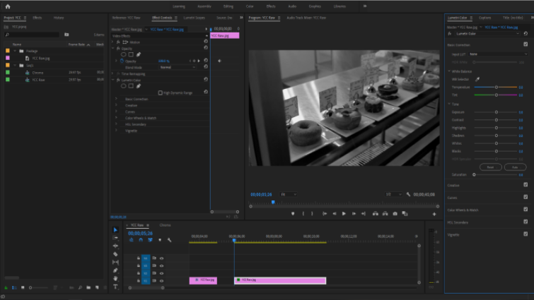 Isolating Image Channels to Work with Chroma and Luma in Premiere — Separation