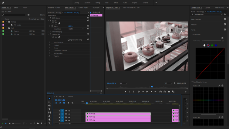 Isolating Image Channels to Work with Chroma and Luma in Premiere — Separating Chroma Channels