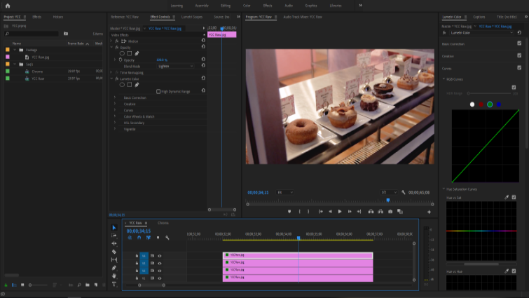 Isolating Image Channels to Work with Chroma and Luma in Premiere — Isolate Green Channel