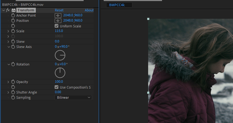 How to Create a Harry Potter-Inspired Flashback in After Effects — Increase Scale