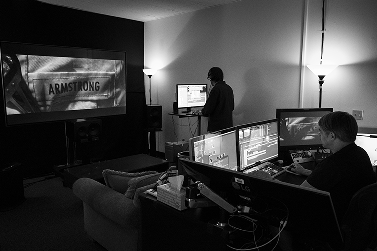 Tom Cross on Editing First Man and Working with IMAX Footage — Editing Suite