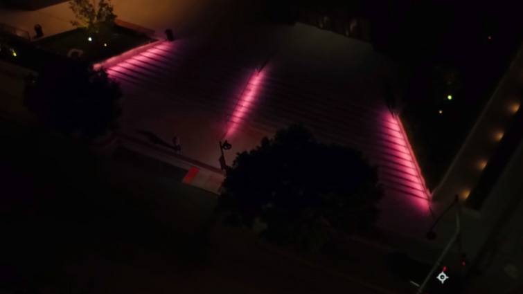 How to Change the Color of Exterior Lights in After Effects — Hue and Saturation