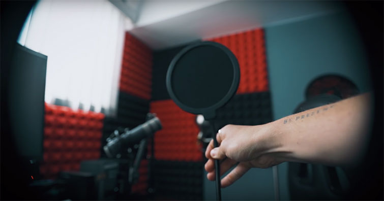 Tutorial: Removing Audio Pops and Recording Audio Differently — Pop Filter