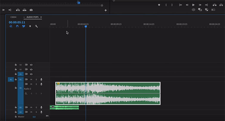 Tutorial: Removing Audio Pops and Recording Audio Differently — Use Fewer Effects