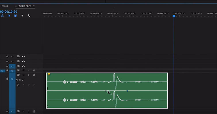 Tutorial: Removing Audio Pops and Recording Audio Differently — Inverted Mountain