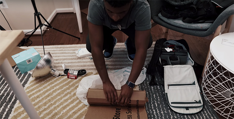 DIY Filmmaking Tips: Building a Heavily Diffused $50 Light — Working with Cardboard