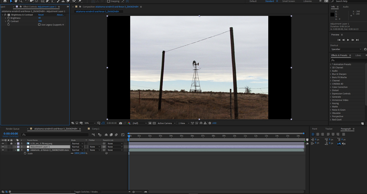 How to Create a Mid-'90s DV Camcorder Look in After Effects — Adding Effects