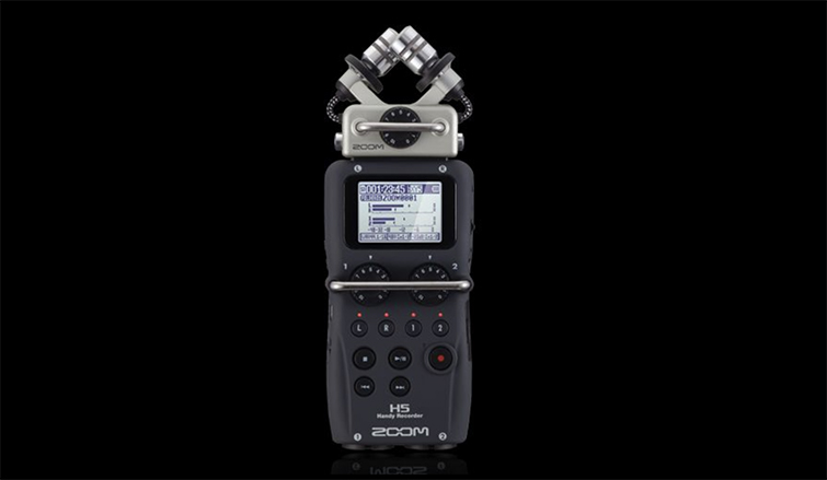 Gear Roundup: The Top Three Audio Recorders Under $300 — Zoom H5 Four-Track