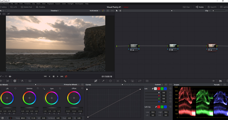 Post-Production Tips: Using a LUT at the Beginning of a Node Tree — Multiple Nodes