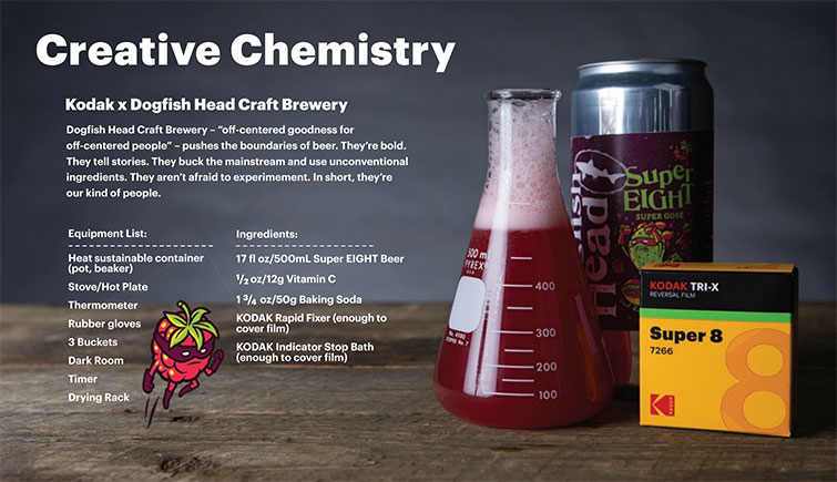 Cheers to This Film Developing Beer Made in Collaboration with Kodak — Creative Chemistry