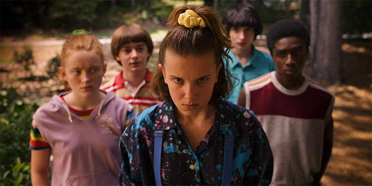 The Cameras Behind Popular Netflix Originals: Films and Series — Stranger Things