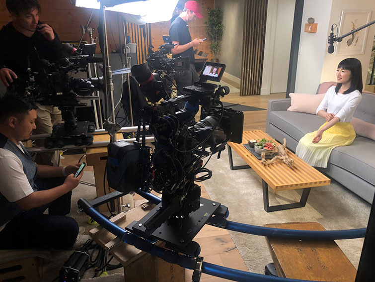 The Cameras Behind Popular Netflix Originals: Films and Series — Tidying Up with Marie Kondo