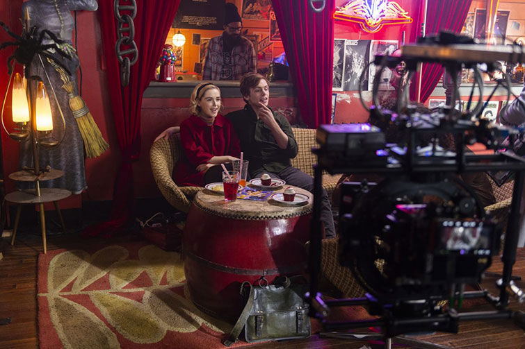 The Cameras Behind Popular Netflix Originals: Films and Series — Chilling Adventures of Sabrina
