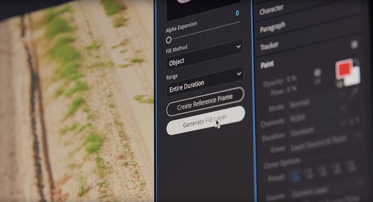 Adobe Releases New Content Aware Fill Tool for After Effects — Content Aware Fill Tool