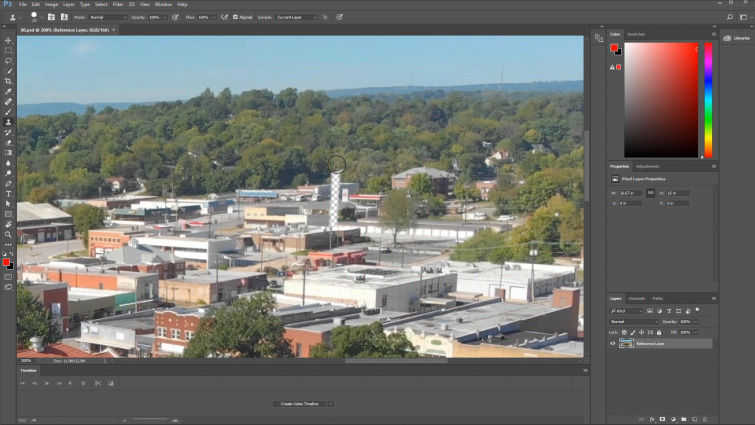 Tutorial: Getting Started with Content-Aware Fill in After Effects — Reference Frame