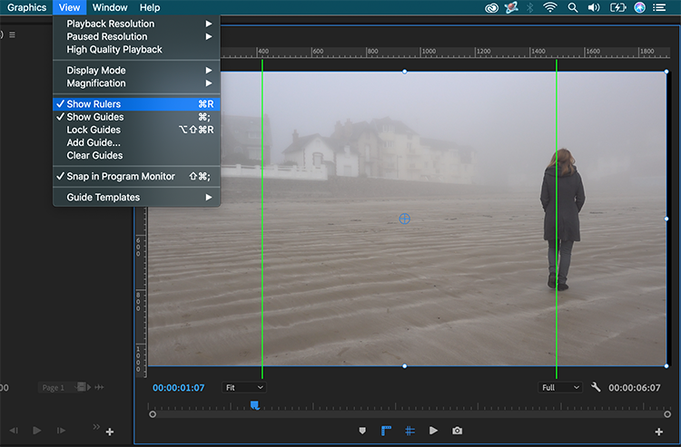 How to Perfectly Position Your Content in Premiere Pro 2019 - Guides and Rulers