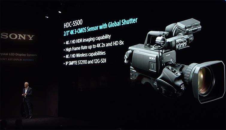 NAB 2019: Sony Announces the Latest 4K Broadcast Beast — HDC-5500
