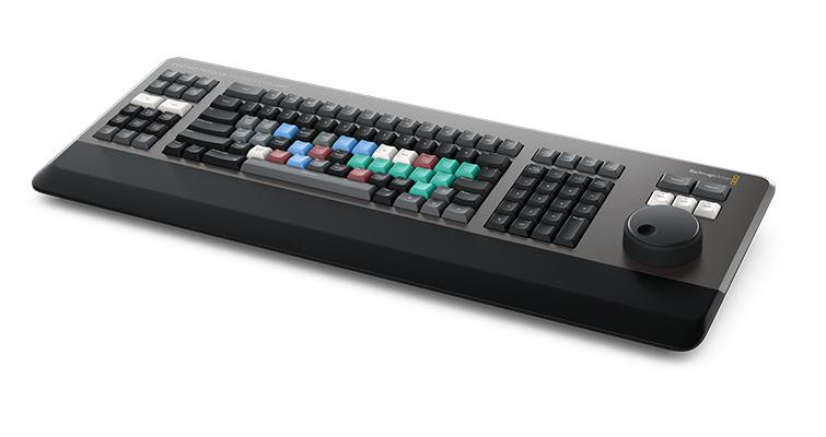 NAB 2019: DaVinci Resolve 16 — What's New and Updated — Editor Keyboard