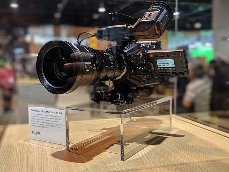NAB 2019: What We Saw at the Blackmagic Design Booth — Ursa Mini Pro 4.6K G2