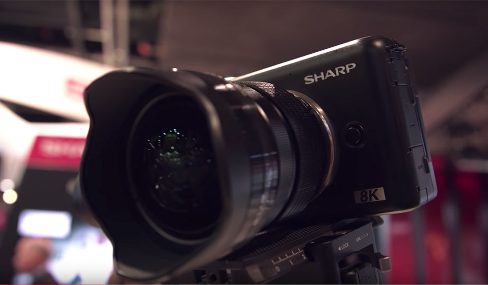NAB 2019: First Looks at the Sharp 8K Micro Four Thirds Camera