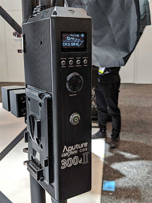 NAB 2019: Aputure's New Gear — The 300d II, LEKO Attachment, and More — Control Box