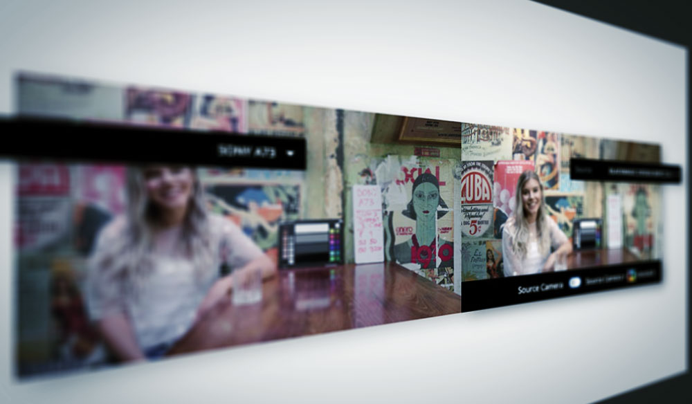 NAB 2019: CineMatch Plugin Matches Cameras in Seconds