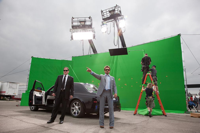 The Cameras and Lenses Behind the Marvel Cinematic Universe (Phase One) - Jon Favreau and Robert Downey, Jr.