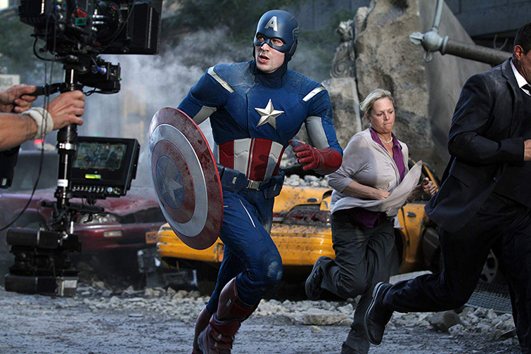The Cameras and Lenses Behind the Marvel Cinematic Universe (Phase One) - Chris Evans as Capt. America