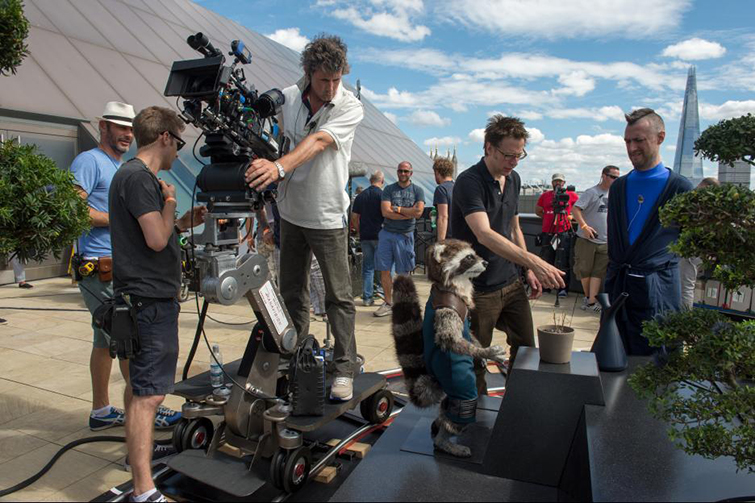 The Cameras and Lenses Behind the Marvel Cinematic Universe (Phase Two) - Filming Guardians
