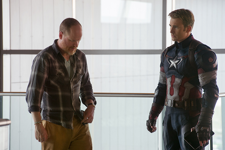 The Cameras and Lenses Behind the Marvel Cinematic Universe (Phase Two) - Joss Whedon and Chris Evans