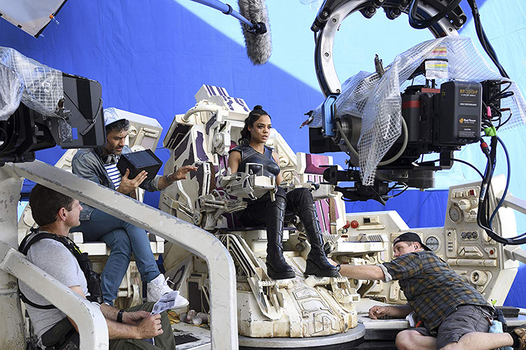 The Cameras and Lenses Behind the Marvel Cinematic Universe — Phase Three - Tessa Thompson