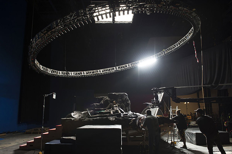 The Cameras and Lenses Behind the Marvel Cinematic Universe — Phase Three - Dynamic Light System