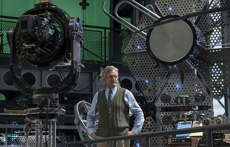The Cameras and Lenses Behind the Marvel Cinematic Universe — Phase Three - Michael Douglas