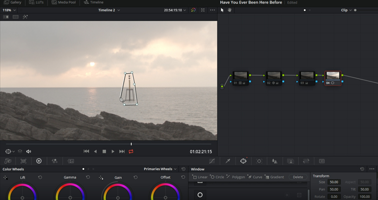 Using Resolve's New Object Removal Tool: Is It Any Good? — Create a Mask